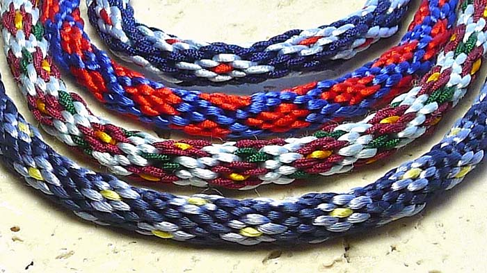 16 strand wire kumihimo patterns